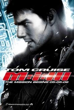 Poster Misión Imposible 3