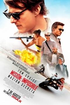 Poster Misión Imposible 5: Nación Secreta