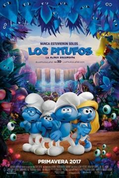 Poster Los Pitufos: La Aldea Escondida