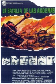 Poster La Batalla de las Ardenas