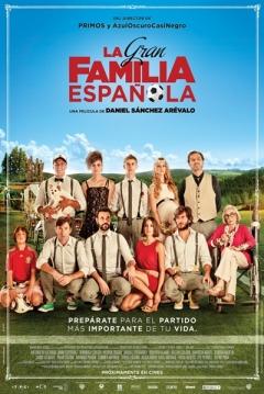 Poster La Gran Familia Española