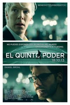 Poster El Quinto Poder (Dentro de Wikileaks)