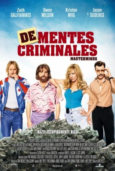 Poster De-mentes Criminales