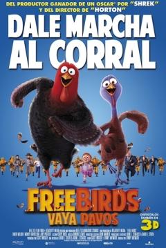 Poster Free Birds, Vaya Pavos