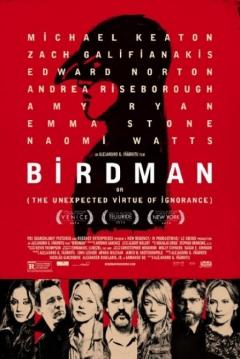 Poster Birdman o (La Inesperada Virtud de la Ignorancia)