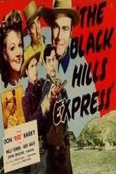 Poster Black Hills Express