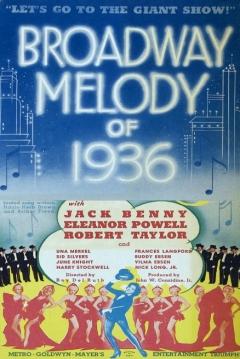Poster Melodías de Broadway 1936