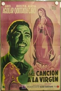 Poster Una canción a la vírgen