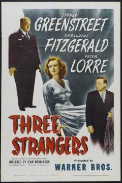 Poster Tres Extraños
