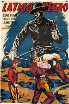 Poster Látigo negro