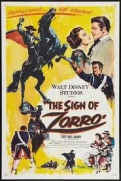 Poster El Signo del Zorro