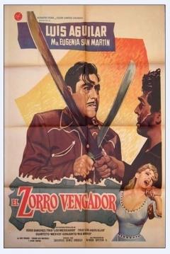 Poster El Zorro vengador