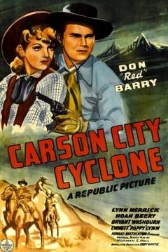 Poster Carson City Cyclone