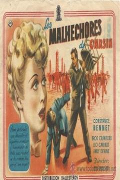 Poster Los Malhechores de Carsin