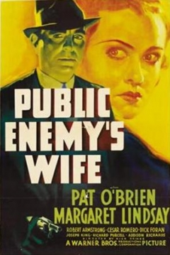 Poster Public Enemy's Wife