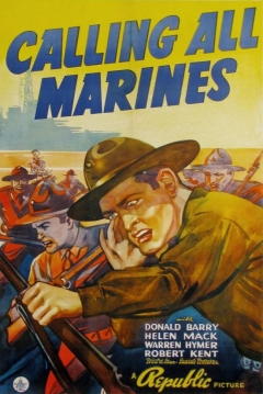 Poster Calling All Marines