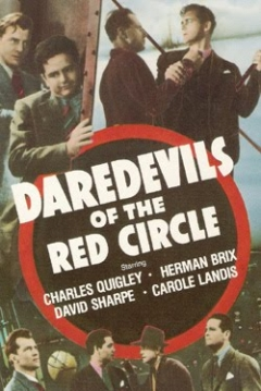 Poster Daredevils of the Red Circle