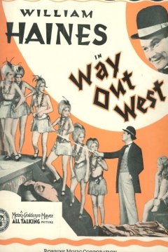 Poster Más Allá del Oeste