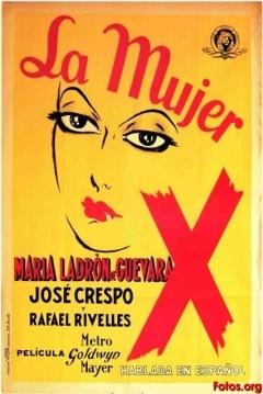 Poster La mujer X