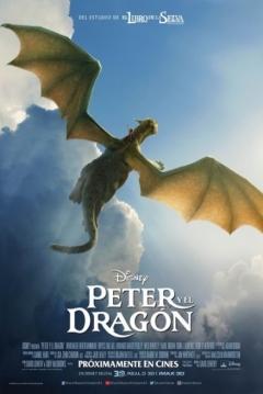 Poster Peter y el Dragón
