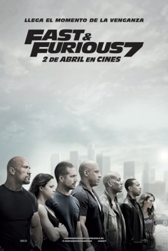 Poster Fast & Furious 7 (A Todo Gas 7)