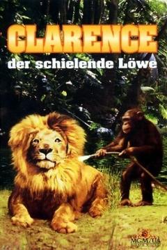 Poster Daktari Clarence, el León Bizco
