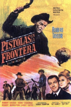 Poster Pistolas en la Frontera