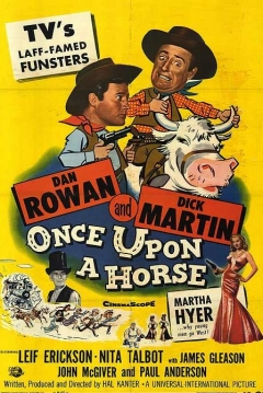 Poster Once Upon a Horse...