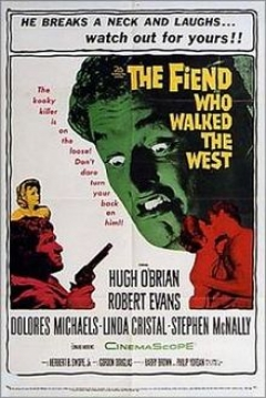 Poster The Fiend Who Walked the West