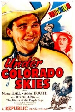 Poster Under Colorado Skies
