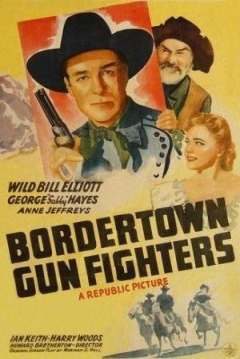 Poster Bordertown Gun Fighters