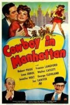 Poster Cowboy in Manhattan