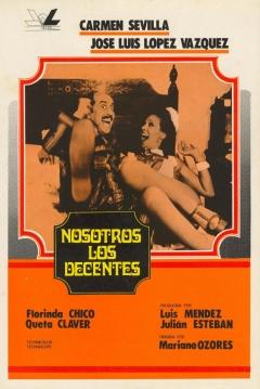 Poster Nosotros, los Decentes