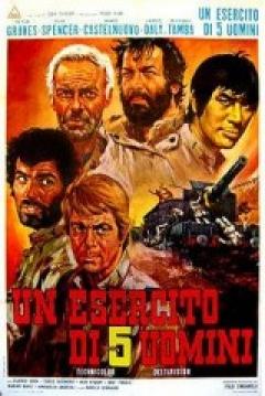 Poster Un Ejército de Cinco Hombres