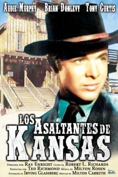 Poster Los Asaltantes de Kansas