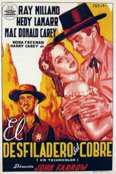 Poster El Desfiladero del Cobre