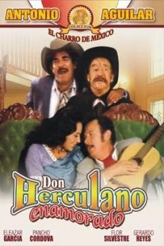 Poster Don Herculano enamorado