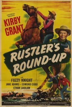 Poster Rustler's Round-up