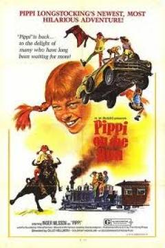 Poster På rymmen med Pippi Långstrump