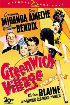 Poster Greenwich Village