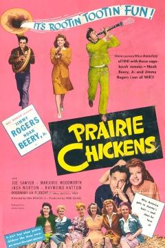 Poster Prairie Chickens