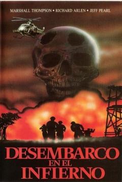 Poster Desembarco en el Infierno