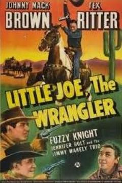 Poster Little Joe, the Wrangler