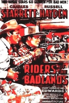 Poster Riders of the Badlands