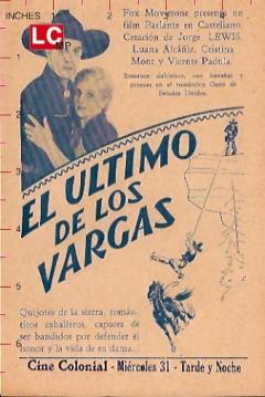 Poster El Último de los Vargas