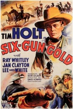 Poster Six-Gun Gold