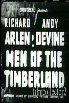 Poster Men of the Timberland