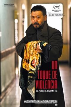 Poster Un Toque de Violencia