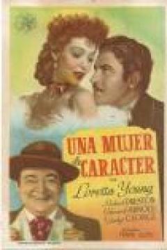 Poster Una Mujer de Carácter