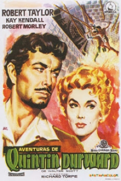 Poster Aventuras de Quintin Durward